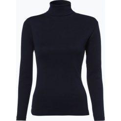 Brookshire - Damska koszulka z długim rękawem, niebieski. Czarne t-shirty damskie marki brookshire, m, w paski, z dżerseju. Za 59,95 zł.