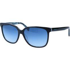 """Okulary przeciwsłoneczne damskie aviatory: Okulary przeciwsłoneczne """"JC645S 05W"""" w kolorze czarnym"""