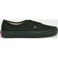 Vans - Tenisówki. Czarne tenisówki męskie marki Vans, z gumy, na sznurówki. Za 259,90 zł.