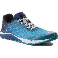 Buty MERRELL - Bare Access MY57958  Blue. Fioletowe buty do biegania damskie marki KALENJI, z gumy. W wyprzedaży za 159,00 zł.