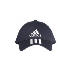 Czapki z daszkiem adidas  Czapka sześciopanelowa Classic 3-Stripes. Niebieskie czapki z daszkiem damskie marki Adidas. Za 69,95 zł.