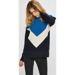 Noisy May - Sweter. Szare swetry klasyczne damskie Noisy May, l, z bawełny, z okrągłym kołnierzem. W wyprzedaży za 139,90 zł.