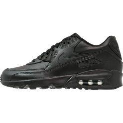 Nike Sportswear AIR MAX 90  Tenisówki i Trampki black. Czarne tenisówki męskie Nike Sportswear, z gumy. W wyprzedaży za 359,20 zł.