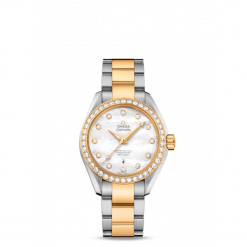 ZEGAREK OMEGA Seamaster Aqua Terra 150M 220.10.28.60.53.001. Szare zegarki damskie marki OMEGA, ze stali. Za 10700,00 zł.