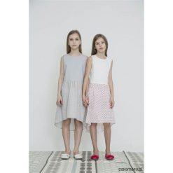 GRACE DOTTINA Sukienka asymetryczna. Szare sukienki dziewczęce letnie Pakamera, z krótkim rękawem, krótkie. Za 199,00 zł.