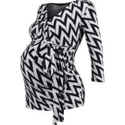 Bluzki asymetryczne: 9Fashion SOLANGE  Bluzka z długim rękawem black/grey