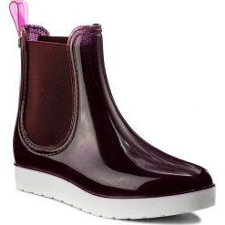 Kalosze GIOSEPPO - Godin 36820-19 Burgundy. Czerwone buty zimowe damskie Gioseppo, z materiału. W wyprzedaży za 139,00 zł.