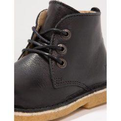 Buty zimowe damskie: Kickers REALKIZ Botki sznurowane noir