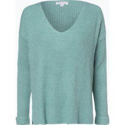 Marie Lund - Sweter damski, niebieski. Niebieskie swetry klasyczne damskie Marie Lund, s, z dzianiny, z dekoltem w serek. Za 229,95 zł.