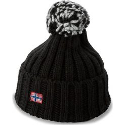 Czapka damska NAPAPIJRI - Itang Wom 1 N0YGVM Black 041. Czarne czapki zimowe damskie marki Napapijri, z materiału. Za 139,00 zł.