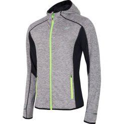 Bluzy męskie: Bluza treningowa męska BLMF004 – chłodny jasny szary