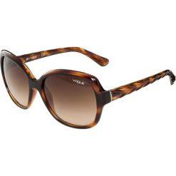 VOGUE Eyewear Okulary przeciwsłoneczne brown. Brązowe okulary przeciwsłoneczne damskie aviatory VOGUE Eyewear. Za 429,00 zł.