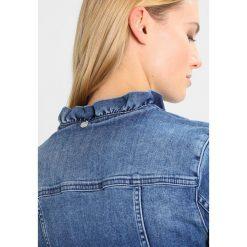 Bomberki damskie: Rich & Royal JACKET WITH RUFFLES Kurtka jeansowa denim blue