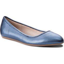 Baleriny SIMPLE - Marisa DAH019-125-YX00-5700-0 59. Niebieskie baleriny damskie lakierowane Simple, ze skóry. W wyprzedaży za 199,00 zł.