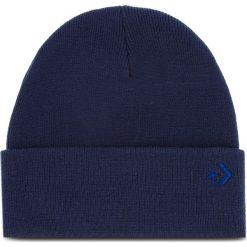 Czapka CONVERSE - 609782 Navy. Niebieskie czapki męskie Converse, z materiału. Za 89,00 zł.