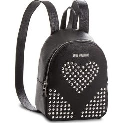 Plecak LOVE MOSCHINO - JC4157PP16LZ0000  Nero. Czarne plecaki damskie marki Love Moschino, ze skóry. Za 1199,00 zł.