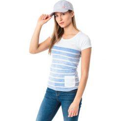 4f Koszulka damska H4L18-TSD012 kobaltowa r. M. Niebieskie bluzki damskie 4f, l. Za 32,90 zł.