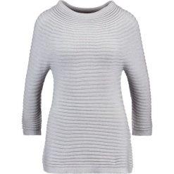 Swetry klasyczne damskie: comma Sweter grau