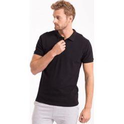 Koszulka polo męska TSM051Z - czarny - 4F. Czarne koszulki polo 4f, na jesień, m, z bawełny. Za 69,99 zł.
