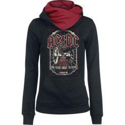 Bluzy rozpinane damskie: AC/DC For Those About To Rock Bluza z kapturem damska czarny/czerwony