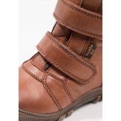 Froddo Śniegowce brown. Niebieskie buty zimowe damskie marki Froddo, z materiału, na wysokim obcasie. W wyprzedaży za 276,75 zł.