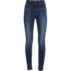GStar 3301 ULTRA HIGH SKINNY NEW Jeans Skinny Fit blue denim. Niebieskie jeansy damskie G-Star. W wyprzedaży za 391,30 zł.