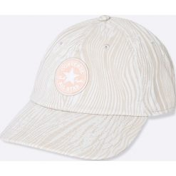 Converse - Czapka. Szare czapki z daszkiem damskie Converse, z bawełny. W wyprzedaży za 89,90 zł.
