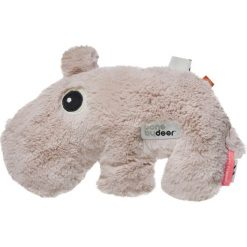 Przytulanka z wypełnieniem z groszku Done by deer hipopotam. Szare przytulanki i maskotki marki Done by Deer. Za 65,00 zł.