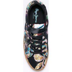 Pepe Jeans - Buty. Szare buty sportowe damskie Pepe Jeans, z gumy. W wyprzedaży za 269,90 zł.
