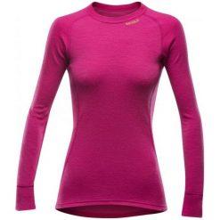 Bluzki sportowe damskie: Devold Koszulka Damska  Duo Active Woman Shirt Cerise Xs