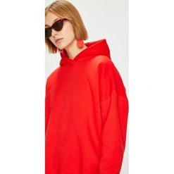 Answear - Bluza Femifesto. Czerwone bluzy z kapturem damskie ANSWEAR, l, z bawełny. W wyprzedaży za 99,90 zł.
