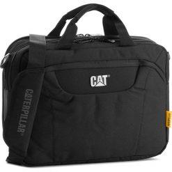 Torba CATERPILLAR - Laptop Messenger 83477 Black 01. Czarne torby na laptopa marki Caterpillar, z materiału. W wyprzedaży za 169,00 zł.