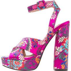 Sandały damskie: Steve Madden JODI Sandały na obcasie pink/multicolor