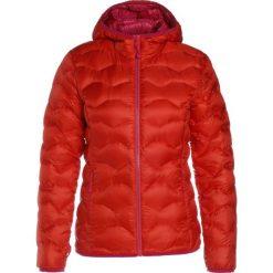 Schöffel KASHGAR Kurtka puchowa fiery red. Czerwone kurtki damskie puchowe Schöffel, z materiału. W wyprzedaży za 734,30 zł.