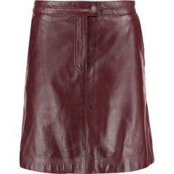 Spódniczki skórzane: Oakwood Spódnica trapezowa burgundy