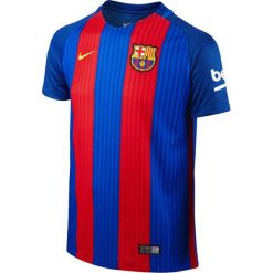 Nike Koszulka męska FCB Junior SS HM Stadium JSY niebieska r. L (777029 481). Niebieskie koszulki sportowe męskie marki Nike, l, do piłki nożnej. Za 241,94 zł.