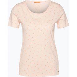 T-shirty damskie: BOSS Casual – T-shirt damski – Teospi, różowy