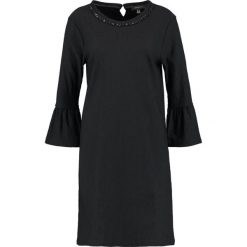 Sukienki hiszpanki: Cortefiel DRESS WITH DETAIL IN COLLAR AND FLARED CUFFS Sukienka letnia black