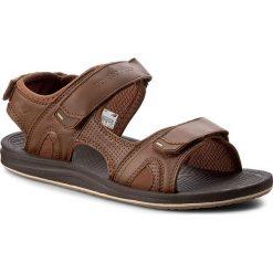 Sandały NEW BALANCE - M2080BR Brown. Brązowe sandały męskie skórzane New Balance. W wyprzedaży za 169,00 zł.