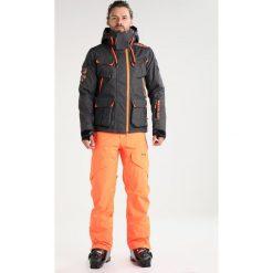 Superdry ULTIMATE SNOW SERVICE Kurtka snowboardowa black grit. Szare kurtki narciarskie męskie Superdry, l, z materiału. W wyprzedaży za 1007,20 zł.