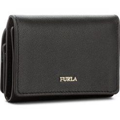 Mały Portfel Damski FURLA - Babylon 943468 P PU36 E35 Onyx. Czarne portfele damskie marki Furla, ze skóry. Za 540,00 zł.
