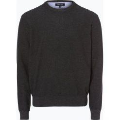 Andrew James - Sweter męski, szary. Szare swetry klasyczne męskie Andrew James, m, z bawełny, z okrągłym kołnierzem. Za 129,95 zł.