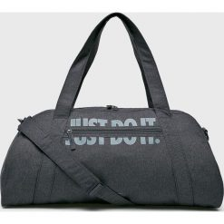 Nike - Torba. Szare torebki klasyczne damskie marki Nike, w paski, z materiału. Za 99,90 zł.