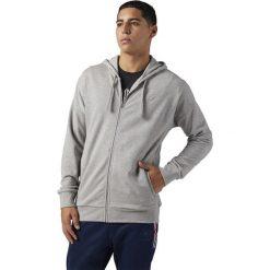 Bluza Reebok F Franchise FZ Hoodie (BQ3400). Pomarańczowe bluzy męskie marki Reebok, z dzianiny, sportowe. Za 83,99 zł.