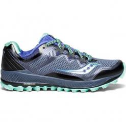 """Buty sportowe """"Peregrine 8"""" w kolorze granatowym. Niebieskie buty sportowe damskie Saucony, z materiału. W wyprzedaży za 295,95 zł."""