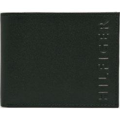Tommy Hilfiger - Portfel skórzany. Czarne portfele męskie TOMMY HILFIGER, z materiału. Za 229,90 zł.