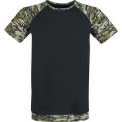 T-shirty męskie: RED by EMP Ain't No Nice Guy T-Shirt oliwkowy/czarny