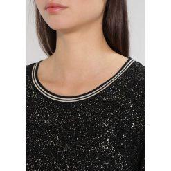 Bluzki asymetryczne: Aaiko SHINY Bluzka z długim rękawem black