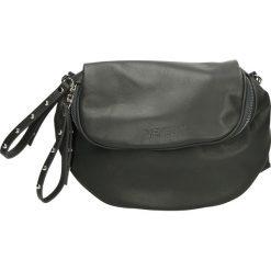 Torebka - 55-3-O SA CEN. Szare torebki klasyczne damskie marki Venezia, ze skóry. Za 299,00 zł.