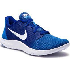 Buty NIKE - Flex Contact 2 AA7398-401  Deep Royal Blue/White. Niebieskie buty do biegania męskie Nike, z materiału, nike flex. W wyprzedaży za 229,00 zł.